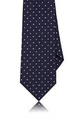Isaia Men's Dotted Silk Necktie