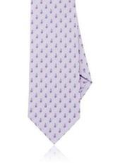 Isaia Men's Floral Silk Seven-Fold Necktie
