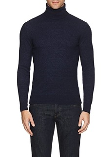Isaia Men's Isaia Bouclé Cashmere Turtleneck Sweater