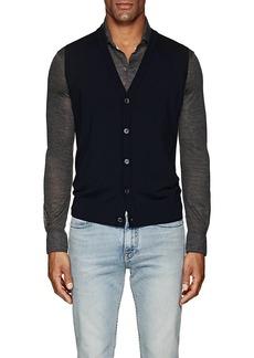 Isaia Men's Merino Wool Sweater Vest