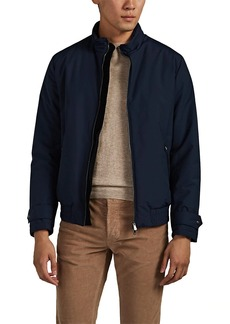 Isaia Men's Patchwork Bomber Jacket