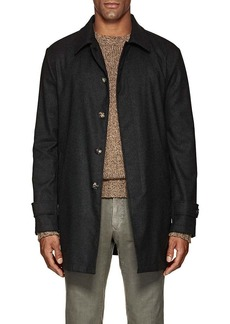 Isaia Men's San Gennaro Bonded Cashmere Coat