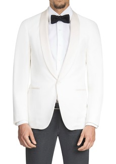 Isaia Men's Satin Shawl-Collar Dinner Jacket