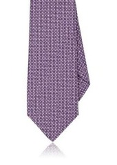 Isaia Men's Silk-Cotton Necktie