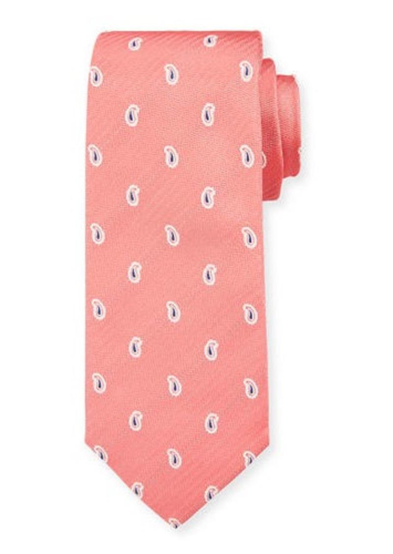 Isaia Men's Silk Pine Tie