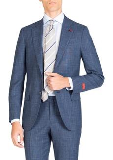 Isaia Men's Tonal Plaid Two-Piece Suit