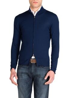 Isaia Men's Wool Full-Zip Jacket