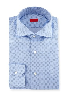 Isaia Micro-Print Dress Shirt