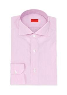 Isaia Micro-Stripe Cotton Dress Shirt