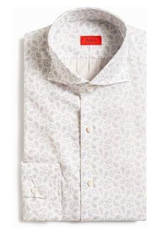 ISAIA Paisley Print Button-Up Shirt