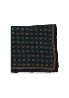 Isaia Polka Dot Pocket Square