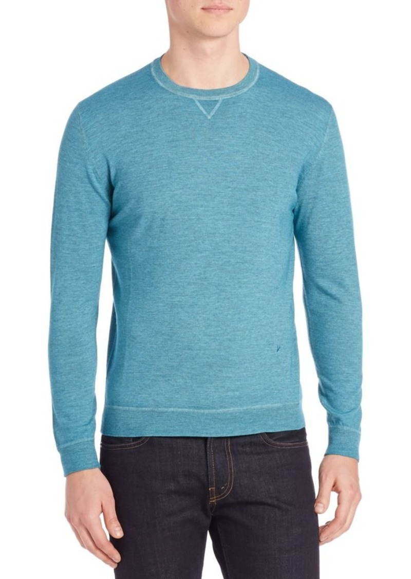 ISAIA Ribbed Wool Sweatshirt