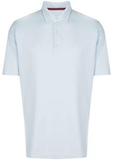 Isaia short-sleeved polo shirt