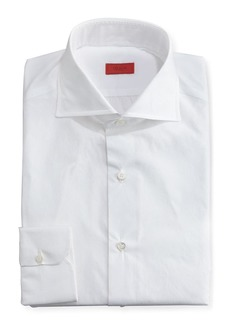 Isaia Slim Solid Dress Shirt