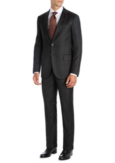 Isaia Striped Super 140s Wool Two-Piece Suit