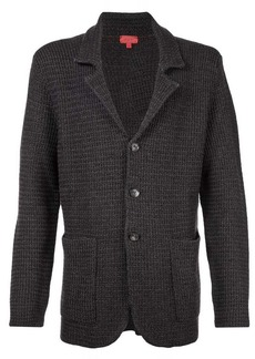 Isaia knitted blazer jacket