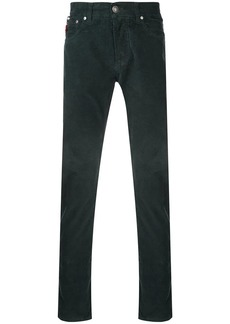 Isaia long corduroy-style trousers