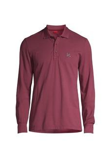 Isaia Long-Sleeve Polo Shirt
