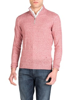 Isaia Men's Linen-Cotton Sweater