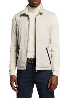 Isaia Men's Stone Comfort Storm Vest