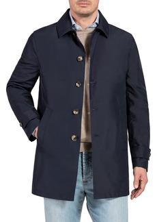 Isaia Men's Techno-Silk Raincoat