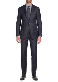 Isaia Men's Tonal Plaid Two-Piece Wool Suit