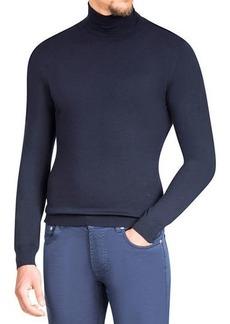 Isaia Merino Wool Turtleneck Sweater