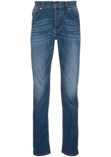 Isaia mid-rise straight-leg jeans