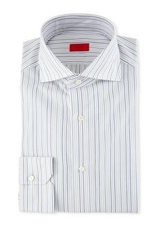 Isaia Multi-Stripe Dress Shirt