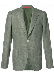 Isaia patch pocket blazer