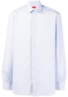 Isaia pinstripe button-down shirt
