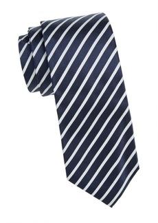 Isaia Silk Stripe Tie