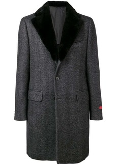 Isaia single breasted coat