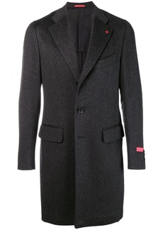 Isaia single breasted coat