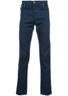 Isaia slim-fit trousers