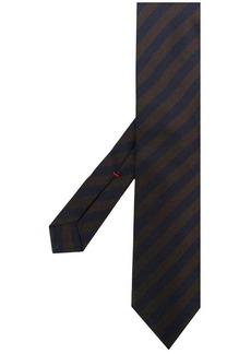 Isaia striped tie