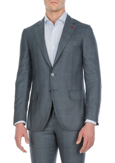Isaia Textured Wool-Stretch Two-Piece Suit