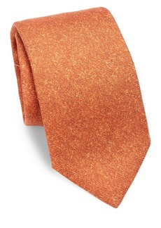 Isaia Tonal Silk Tie