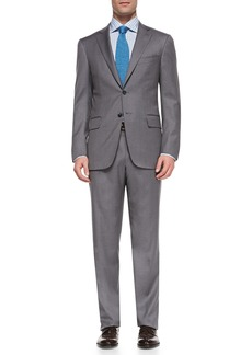 Isaia Wool Two-Button Suit