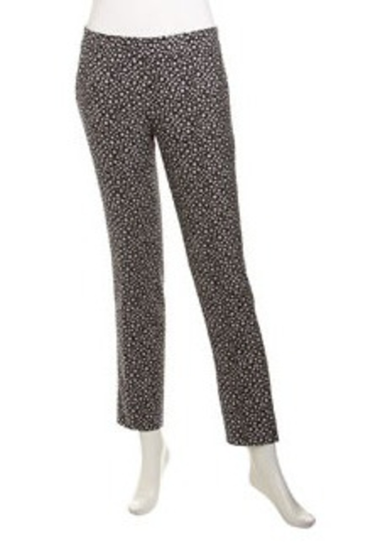 Isda & Co Circle-Pattern Pants, Deep Sea