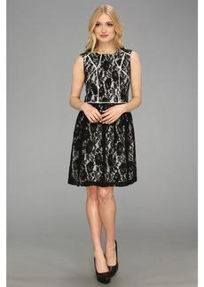 Ivy & Blu Sleeveless A-Line Lace Dress