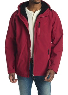 Izod Faux Shearling Lined Hooded Jacket