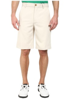 Izod Flat Front Microfiber Golf Shorts