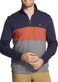 IZOD Advance Performance Colorblock Fleece Sweater