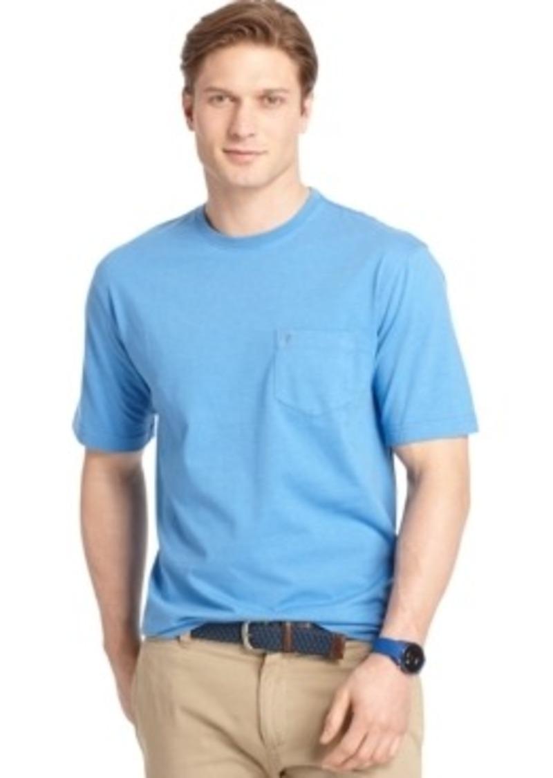Izod izod big and tall crew neck pocket t shirt t shirts for Izod big and tall shirts