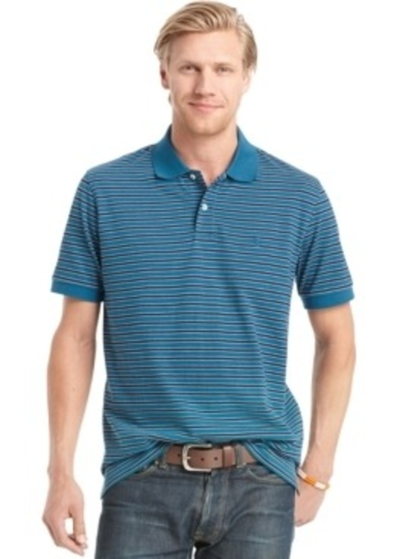 Izod izod big and tall short sleeve striped polo casual for Big and tall casual shirts