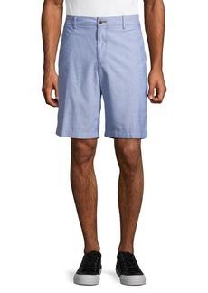 IZOD Cotton Oxford Shorts