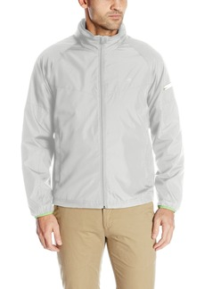 IZOD Men's True Lightweight Windbreaker with Reflective Tape