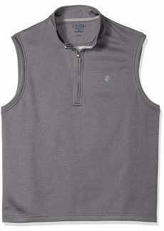 IZOD Men's 1/4 Zip Water Proof Vest
