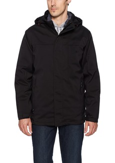IZOD Men's 3-In-1 Hooded Systems Jacket  M
